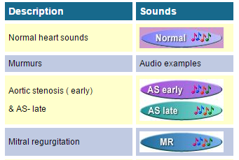 heart sounds
